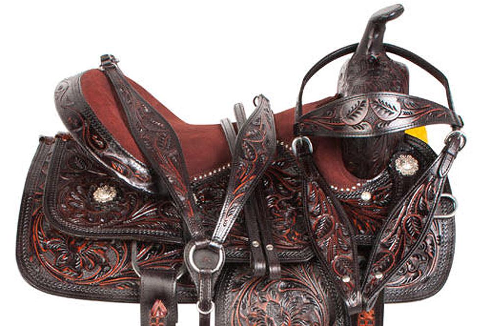 Western Horse Barrel Racing Saddle Pleasure Leather Great American U-3-VX