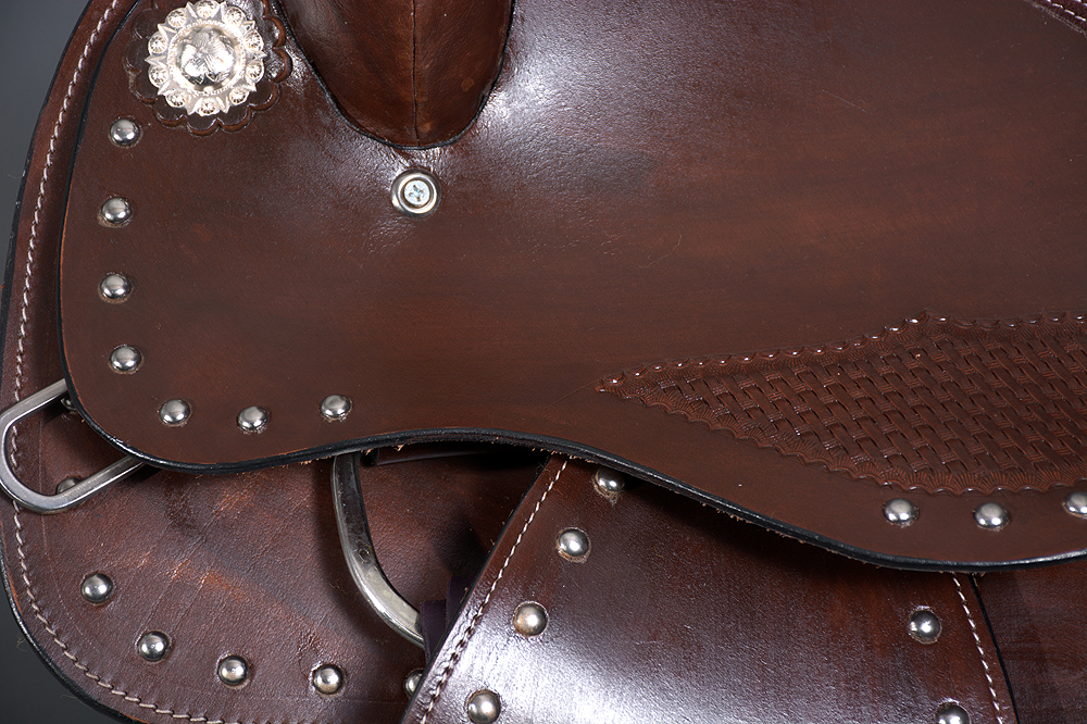 Western Horse Saddle Trail Pleasure Endurance Leather Great American U-I214