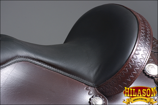 Hilason Flex-Tree silla caballo Trail de cuero occidental Trail caballo placer Chocolate 1534e9