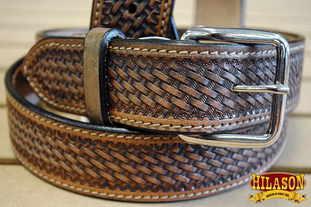 Leather-Gun-Holster-Belt-Handmade-Heavy-Duty-Western-Work-Mens-U-05DB thumbnail 8