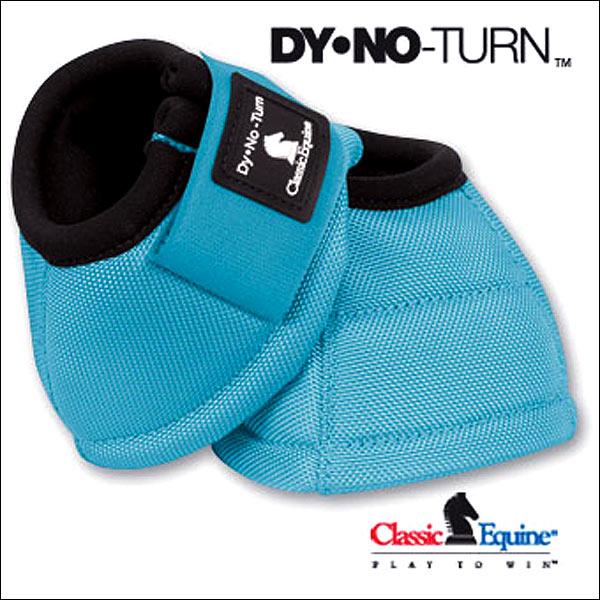 U-L-MX CLASSIC EQUINE DYNOHYDE DESIGNER LINE 2520D HORSE LEG NO TURN BELL BOOTS