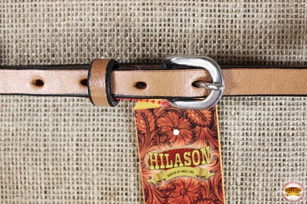 C-9-03 HILASON THROAT LATCH REPLACEMENT STRAP HORSE HEADSTALL HARNESS LEATHER BR