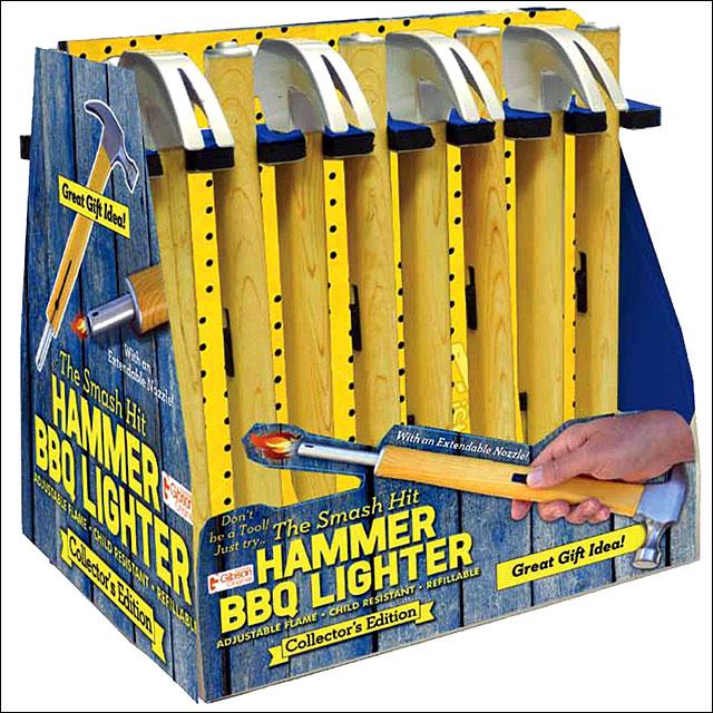 rivers edge home d 201 cor hammer bbq refillable lighter