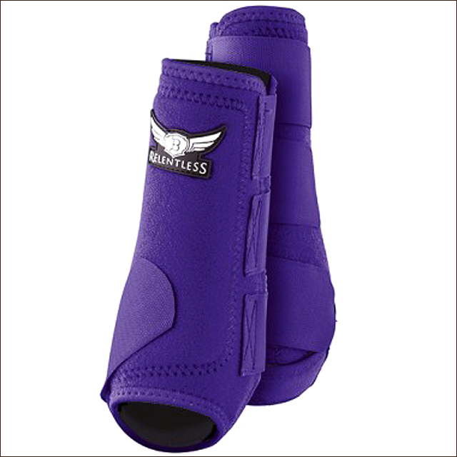 U-TREVOR-RELENTLESS-ALL-AROUND-FULL-FLEX-HORSE-SPORT-STYLE-HIND-REAR-BOOTS-PAIR miniature 14