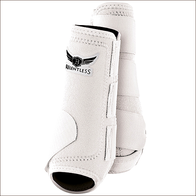 U-TREVOR-RELENTLESS-ALL-AROUND-FULL-FLEX-HORSE-SPORT-STYLE-HIND-REAR-BOOTS-PAIR miniature 22