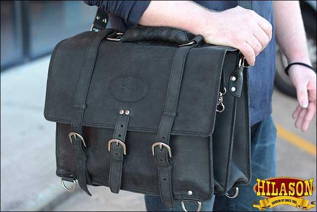 L,M,XL Briefcase Backpack Laptop Bag Glanor Buffalo Leather Hand Bag U-N-MX