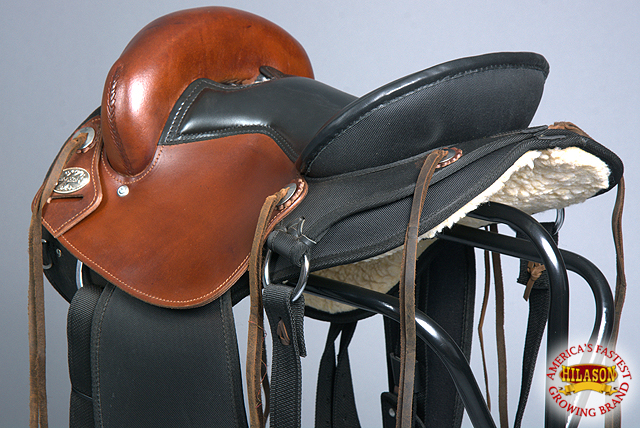 Details about Hilason Gaited Western Trail Pleasure Endurance Saddle U-HSTT