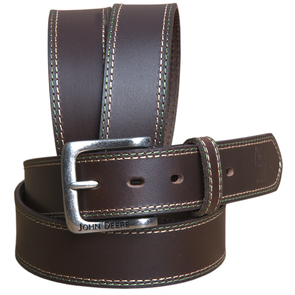 "Men/'s Braided Genuine Leather Casual Jean Belt 1-1//2/"" Wide Black Brown"