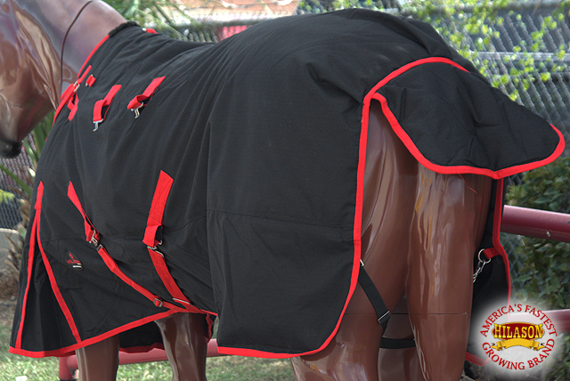 HILASON WRAP 1200D WATERPROOF POLY TURNOUT HORSE WINTER BLANKET BELLY WRAP HILASON SURCINGLE 04e715