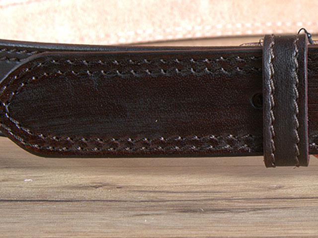 Leather Gun Holster Belt Carry Heavyduty Western Mens Concealed Hilason U-01DB