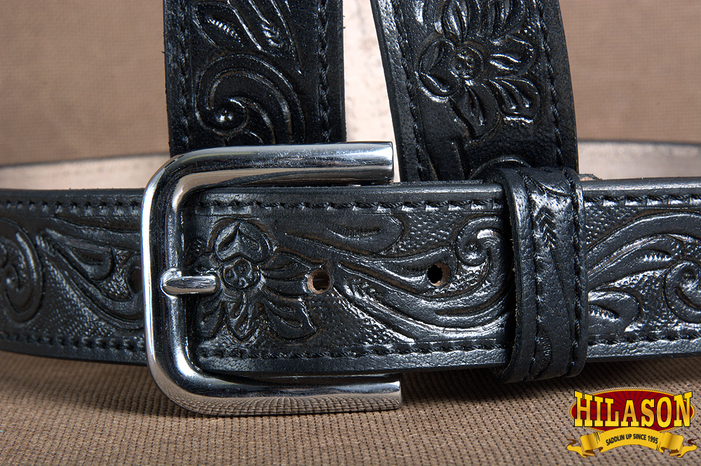 "U-T203 30/""-60/"" Hilason Handmade Concealed Carry Leather Stitch Gun Holster Belt"