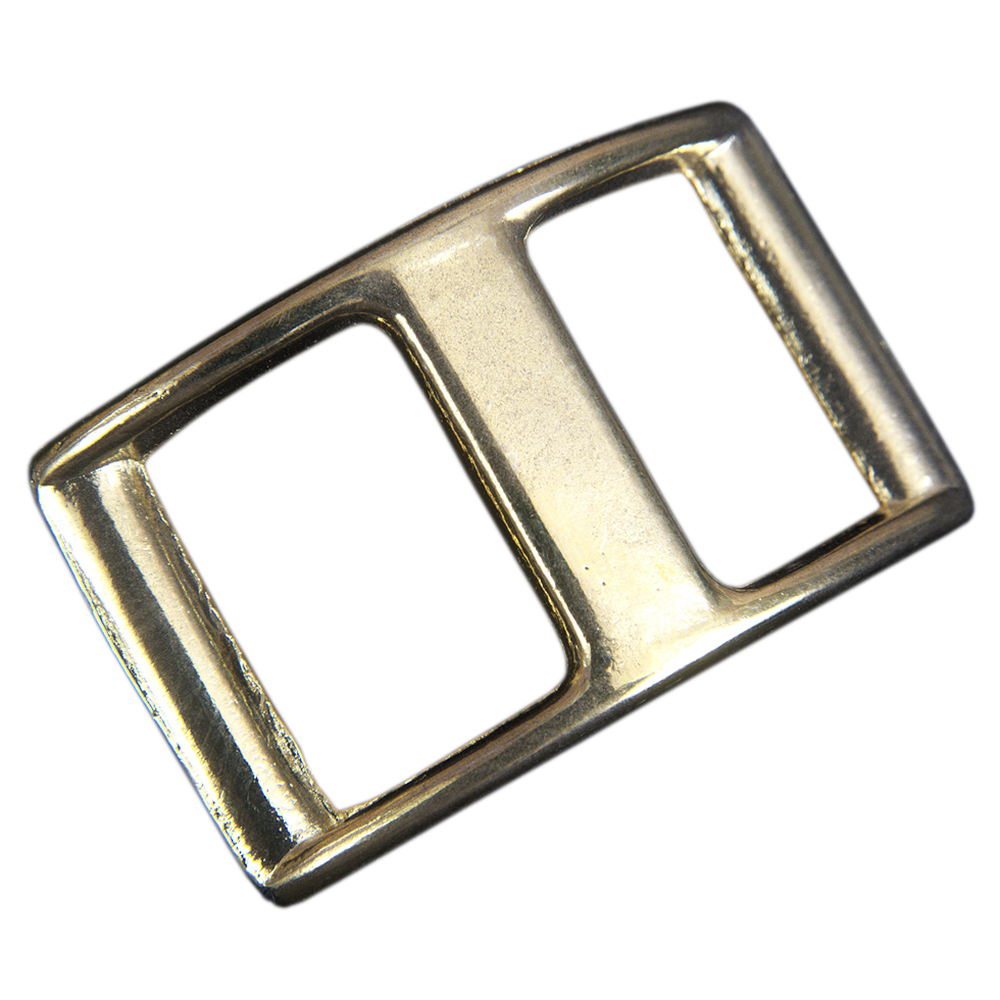 U-5//8/'/' Hilason Western Horse Tack Clean Laqueer On Polished Brass Conway Buckle