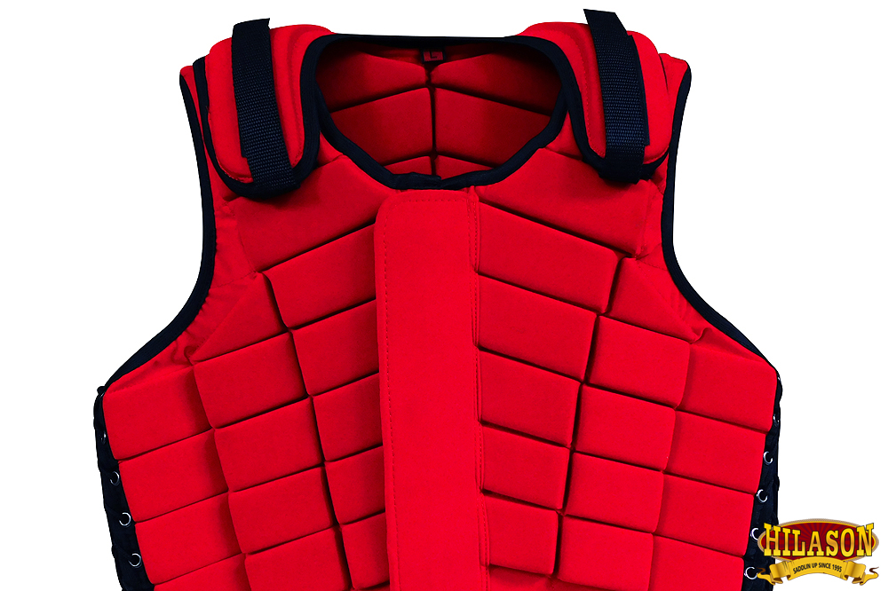 Equestrian Horse Riding Vest Safety Protective Hilason Adult Eventing U-2-MX