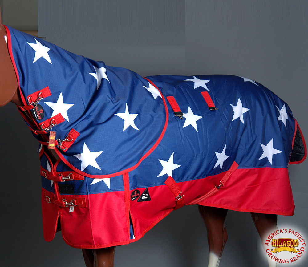 C-B-72 72  HILASON 1200D 400 gsm HORSE WINTER TURNOUT WATER PROOF BLANKET W  NEC