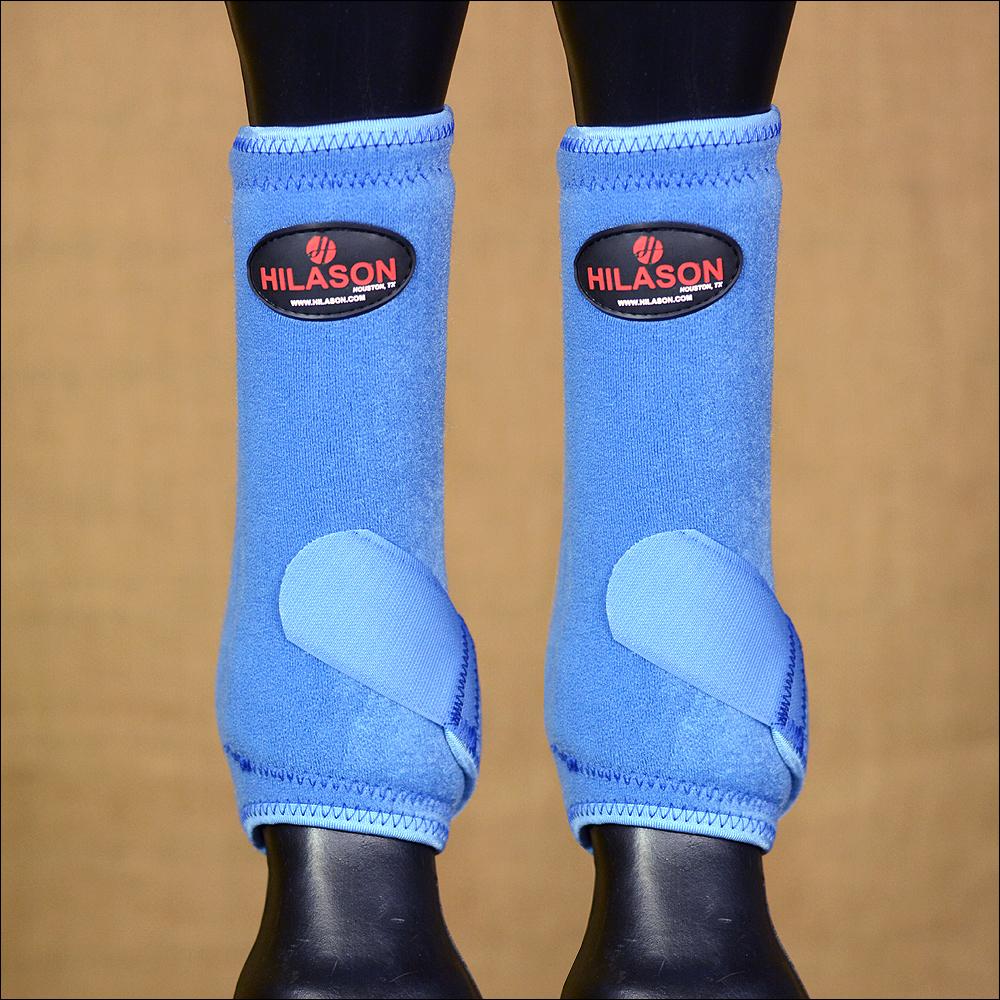 CLUM Medium Hilason blu Horse Front Leg Prossoection Ultimate  Sports avvio Pair