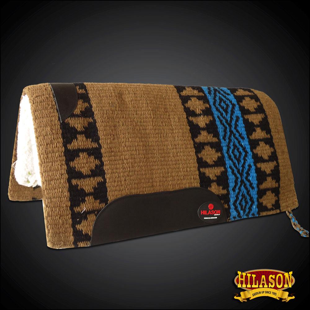 Horse Western Saddle Blanket Gel Pad Made In Usa Wool New Zealand U--GEL