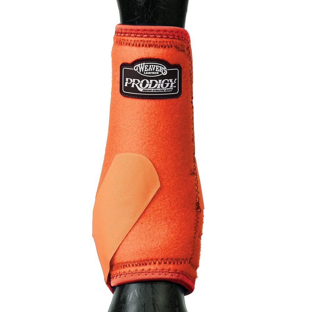 Weaver Prodigy Horse Front Neoprene Athletic  Sports Boots Pair orange U--S13  online shopping sports