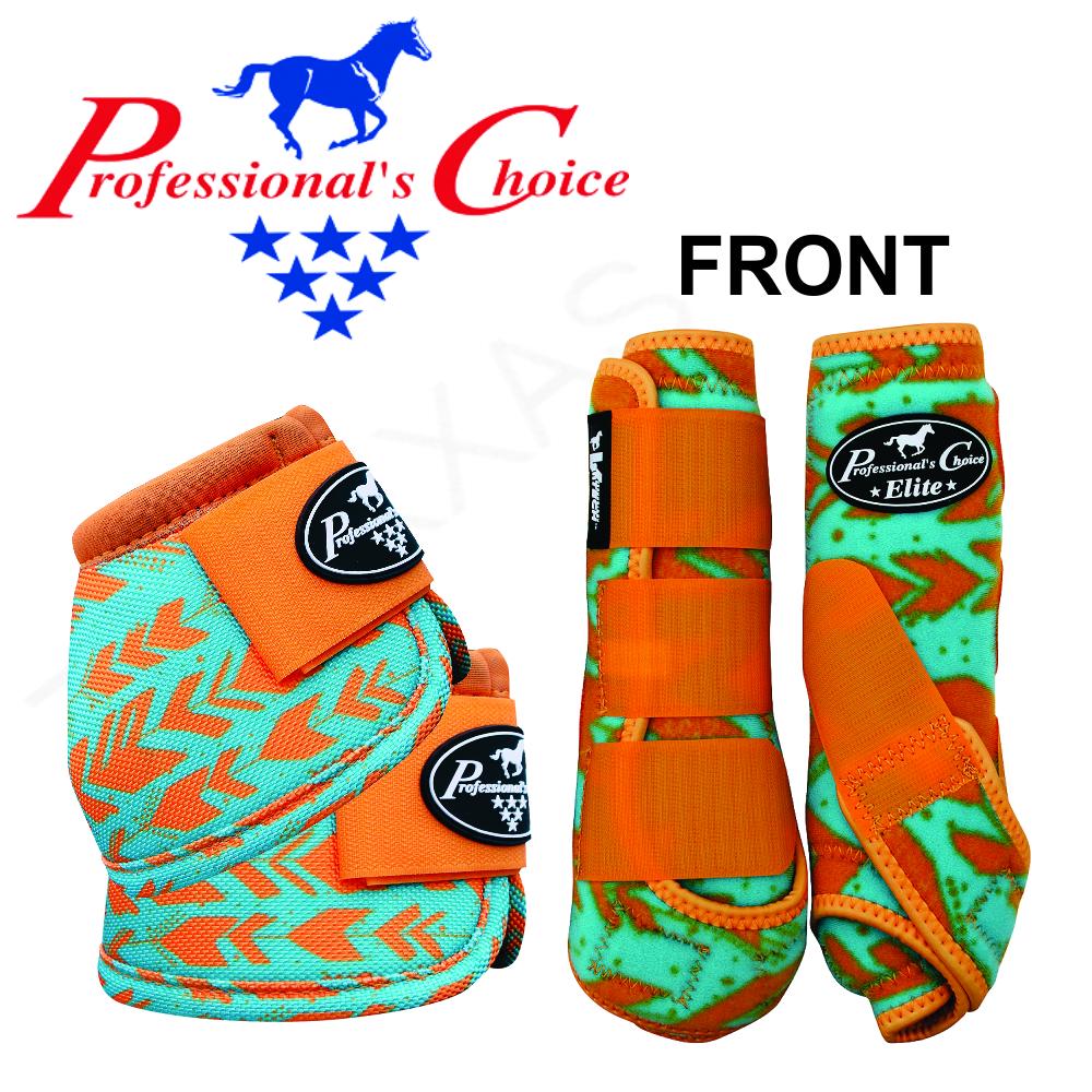 U--ARW MEDIUM PROFESSIONAL CHOICE VENTECH ELITE HORSE FRONT BELL MEDICINE BOOTS