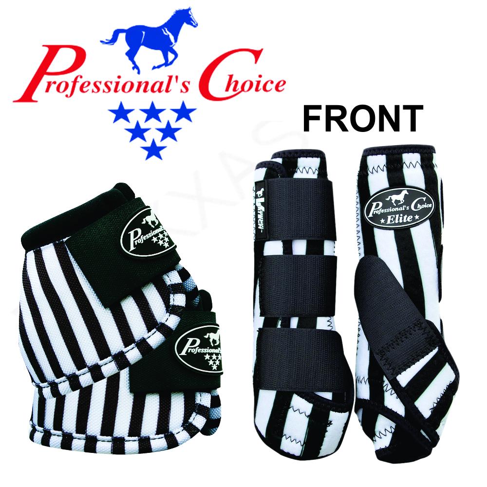 U--JLB LRG PROFESSIONAL CHOICE VENTECH ELITE HORSE FRONT BELL MEDICINE BOOTS JAI