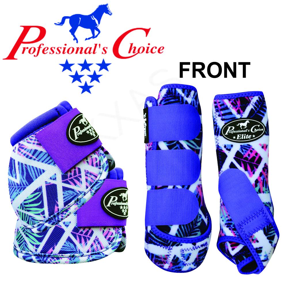 UTRO LARGE PROFESSIONAL CHOICE VENTECH ELITE HORSE FRONT BELL MEDICINE stivali T